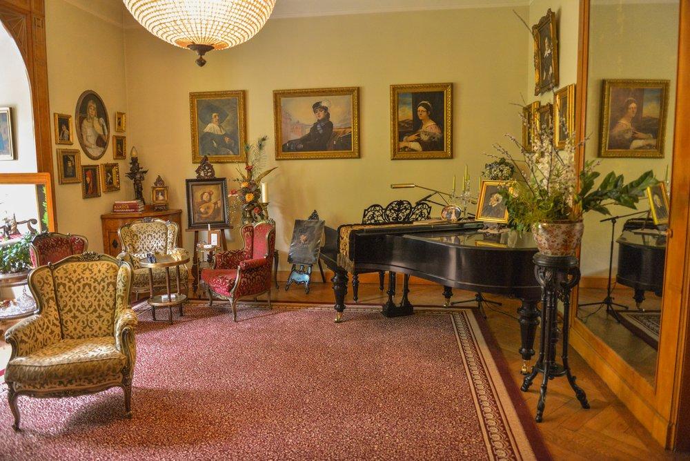 Hotel – Villa 4 Jahreszeiten – Crimmitschau – Inneneinrichtung