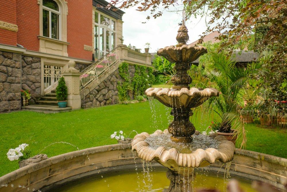 Hotel – Villa 4 Jahreszeiten – Crimmitschau – Parkanlage
