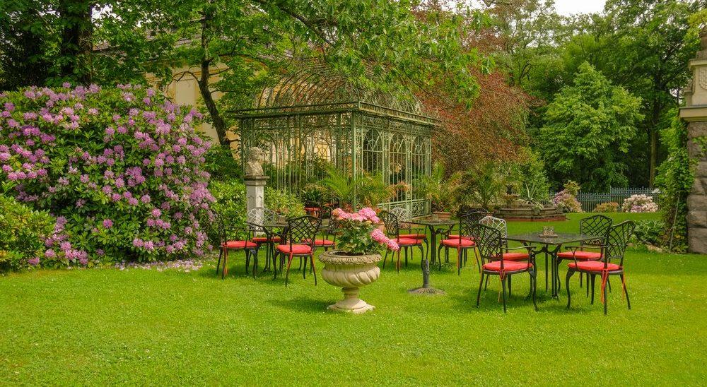 Hotel – Villa 4 Jahreszeiten – Crimmitschau – Parkanlage 05