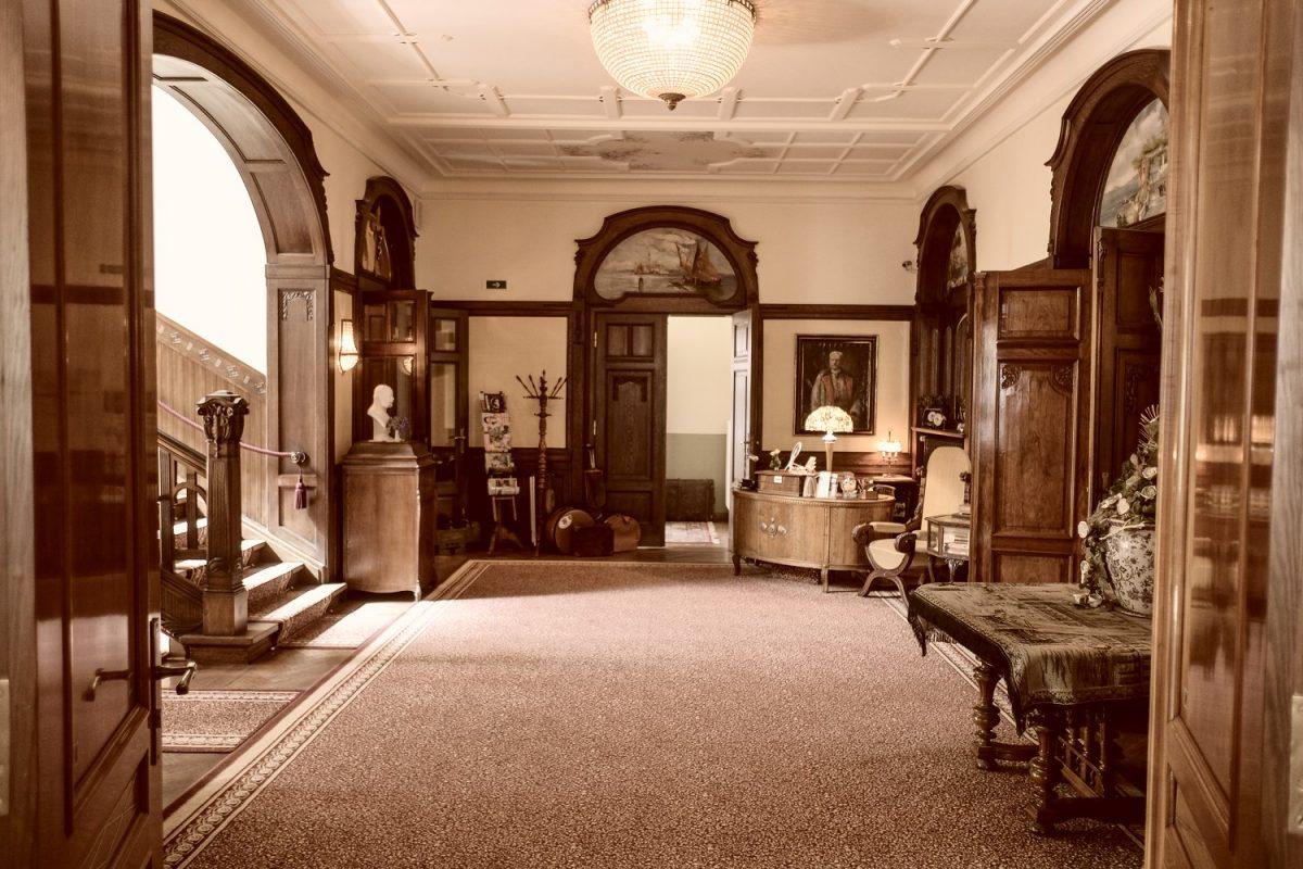 Interieur der Villa-Vier-Jahresteiten