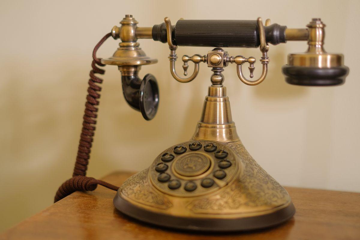 Hotel Villa Vier Jahreszeiten - Crimmitschau - Altes Telefon