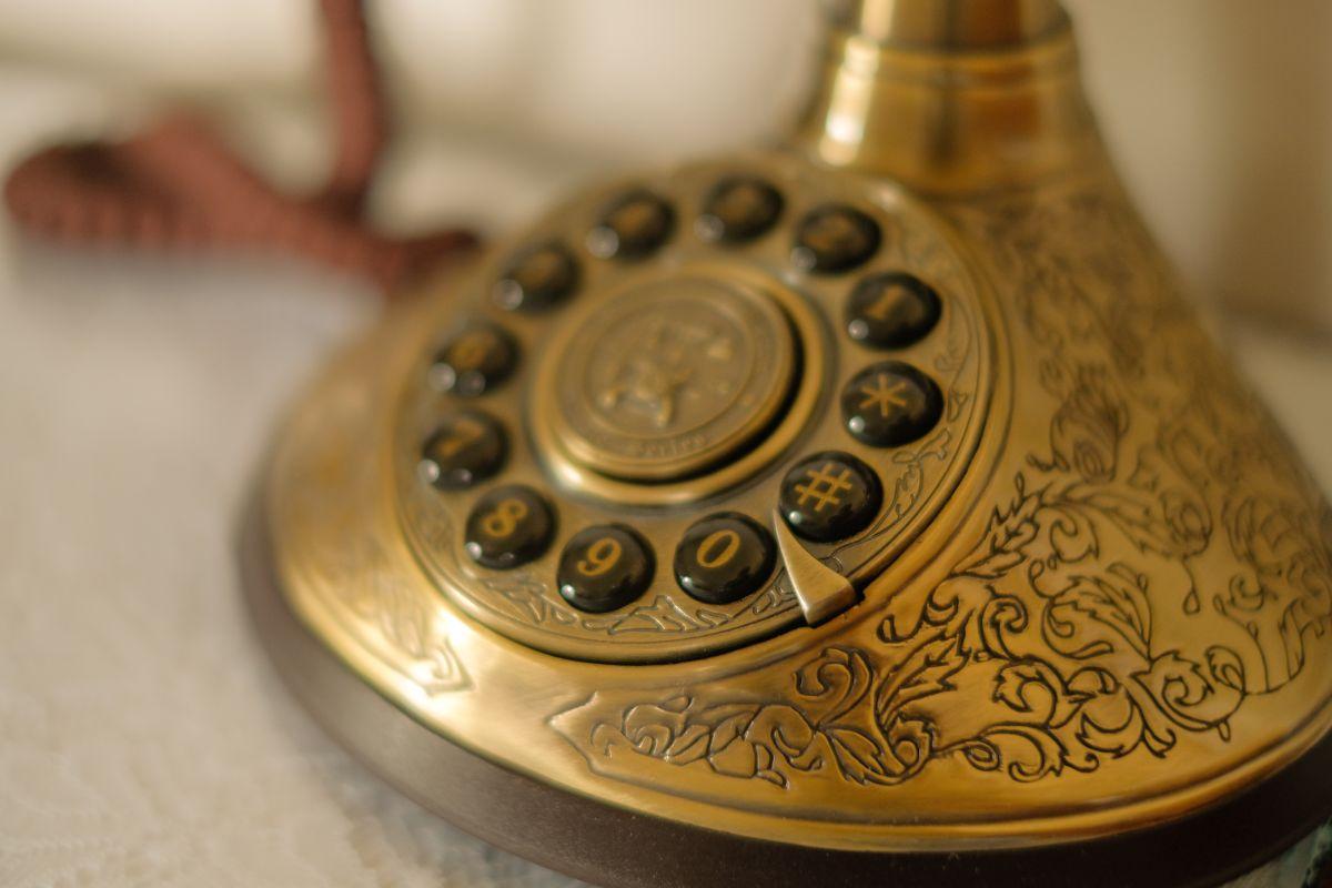 Hotel Villa Vier Jahreszeiten - Crimmitschau - Altes Telefon Makro