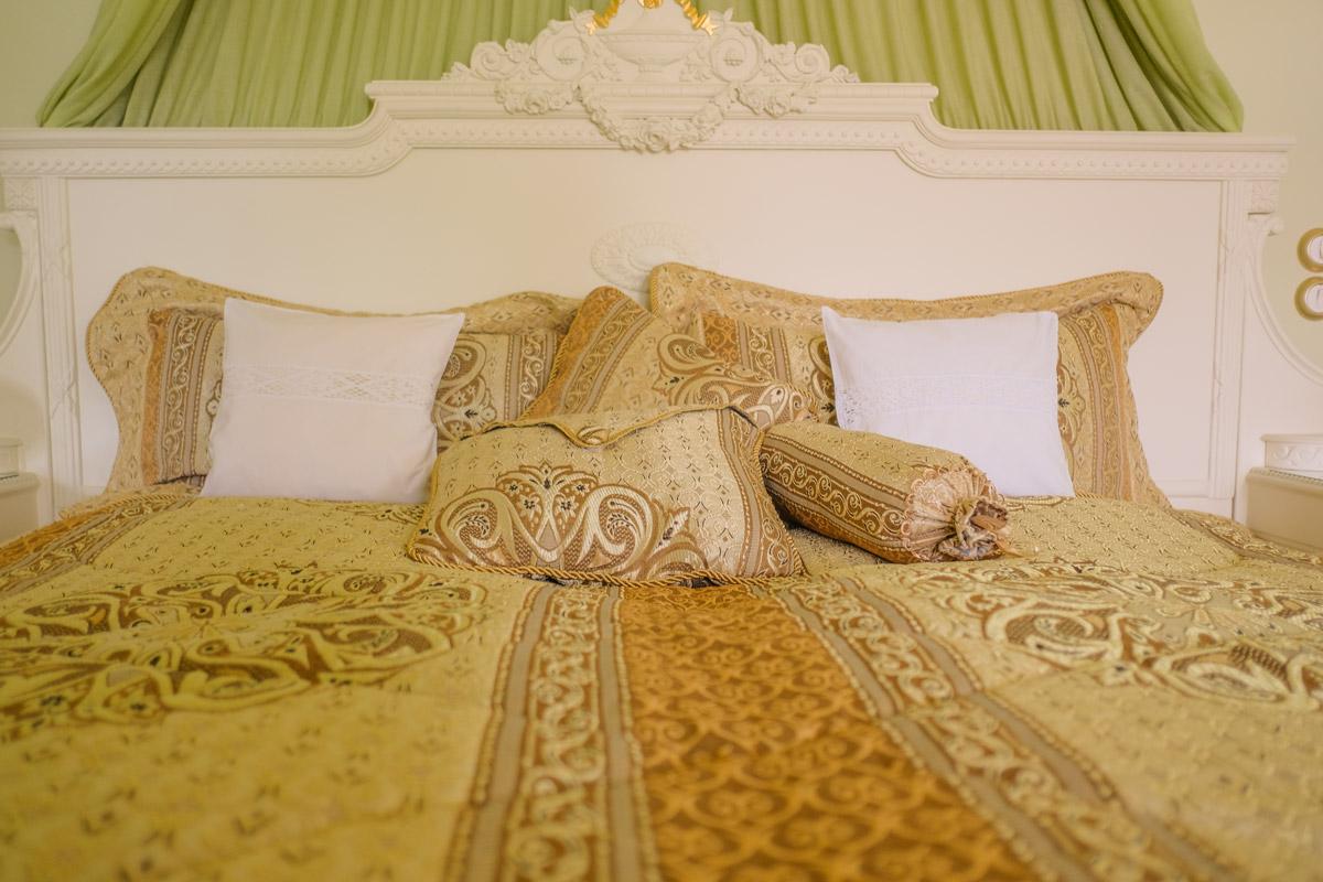 Hotel Villa Vier Jahreszeiten - Crimmitschau - Raum 01 Bett
