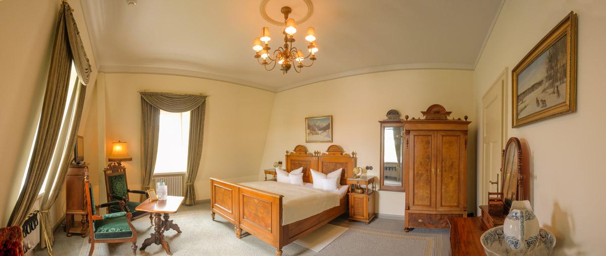 Hotel Villa Vier Jahreszeiten - Crimmitschau - Raum 06 Panorama