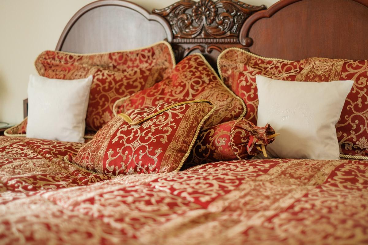 Hotel Villa Vier Jahreszeiten - Crimmitschau - Raum 08 Bett