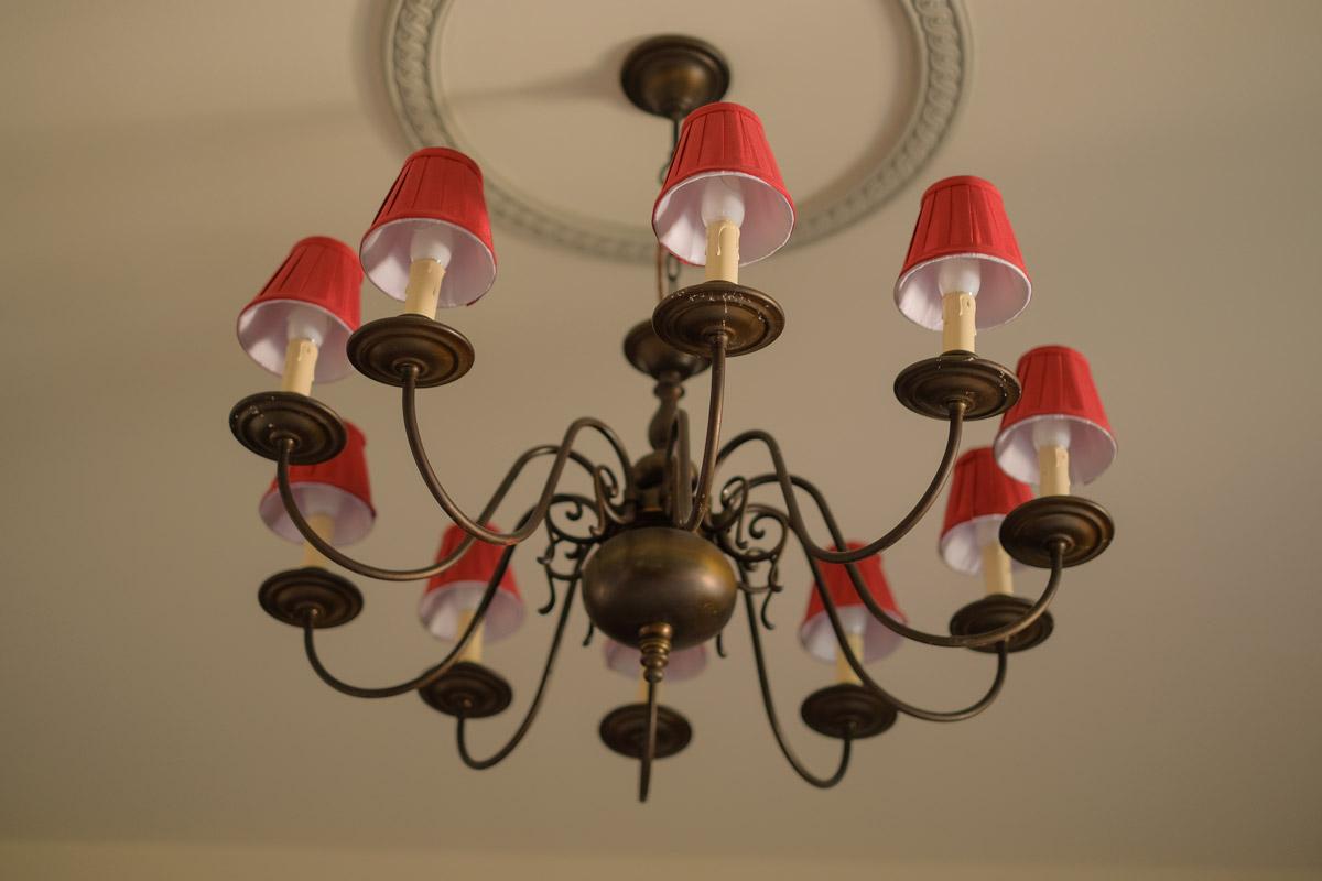 Hotel Villa Vier Jahreszeiten - Crimmitschau - Raum 08 Lampe