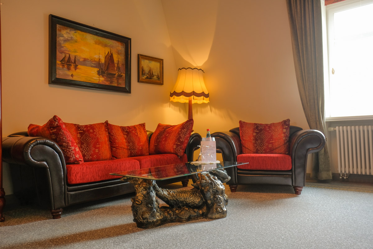 Hotel Villa Vier Jahreszeiten - Crimmitschau - Raum 08